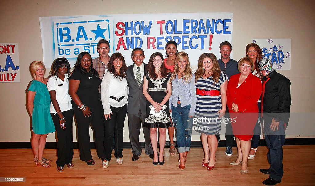 """The Creation Coalition And WWE Hosts """"Be A Star"""" Anti-Bullying Initiative Rally"""