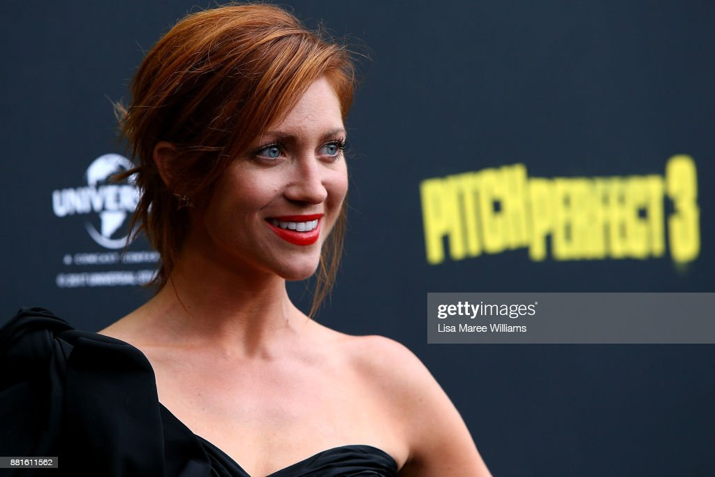 Brittany Snow arrives ahead of the Australian Premiere of Pitch Perfect 3 on November 29, 2017 in Sydney, Australia.