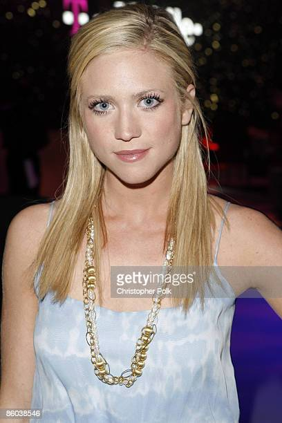 Brittany Snow at the T-Mobile G1 Tone-Def After-Party in Coachella Valley on April 19, 2009.