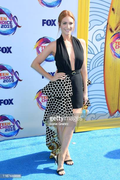 Brittany Snow attends FOX's Teen Choice Awards 2019 on August 11 2019 in Hermosa Beach California