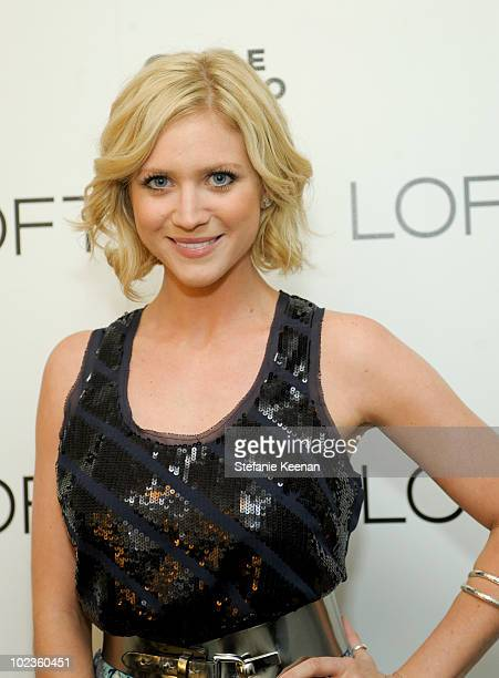 Brittany Snow attends LOFT Fall 2010 Press Preview and Cocktail Party at Chateau Marmont on June 23, 2010 in Los Angeles, California.