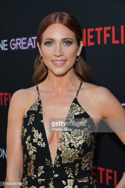 Brittany Snow attends Netflix Special Screening Of Someone Great at ArcLight Cinemas on April 17 2019 in Culver City California