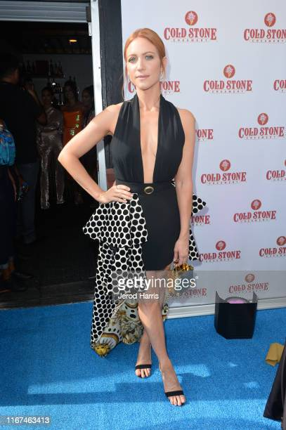 Brittany Snow attends Planet Smoothie Backstage at 2019 Teen Choice Awards on August 11 2019 in Hermosa Beach California