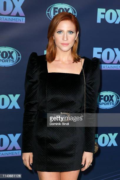 Brittany Snow attends the 2019 FOX Upfront at Wollman Rink Central Park on May 13 2019 in New York City