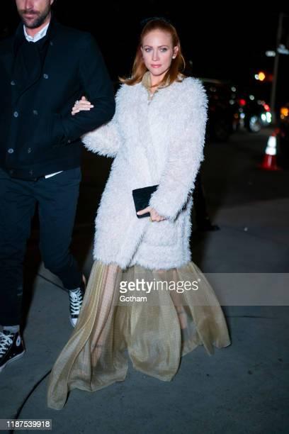 Brittany Snow attends the 2019 Guggenheim International Gala on November 13 2019 in New York City