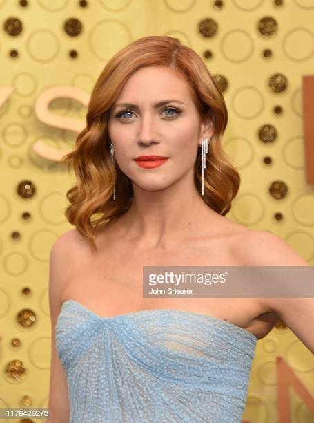 Brittany Snow attends the 71st Emmy Awards at Microsoft Theater on September 22 2019 in Los Angeles California