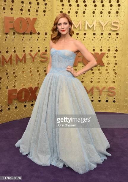 Brittany Snow attends the 71st Emmy Awards at Microsoft Theater on September 22, 2019 in Los Angeles, California.