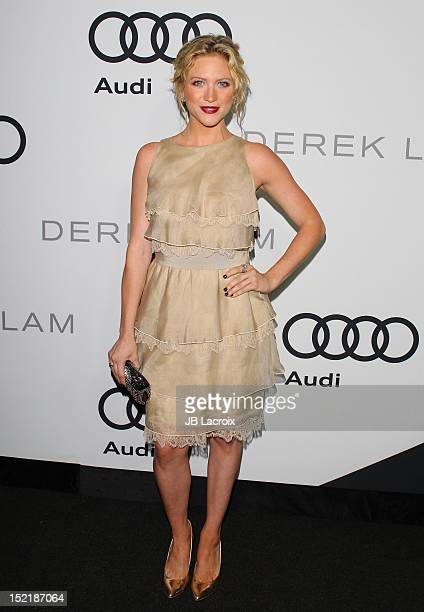 Brittany Snow attends the Audi And Derek Lam Kick Off Emmy Week 2012 Cocktail Party at Cecconi's Restaurant on September 16 2012 in Los Angeles...