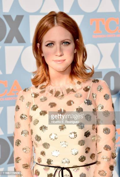 Brittany Snow attends the FOX Summer TCA 2019 AllStar Party at Fox Studios on August 07 2019 in Los Angeles California