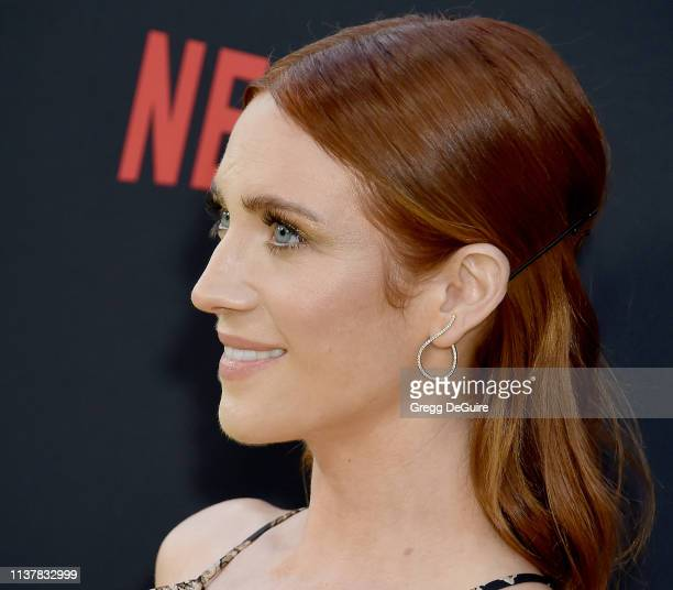 Brittany Snow attends the Los Angeles Special Screening Of Netflix's Someone Great at ArcLight Hollywood on April 17 2019 in Hollywood California