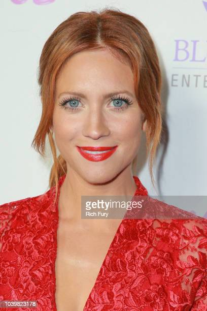 "Brittany Snow attends the premiere of Blue Fox Entertainment's ""Summer '03"" at the Vista Theatre on September 24, 2018 in Los Angeles, California."