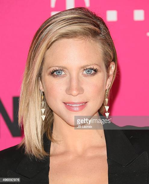 Brittany Snow attends the TMobile Uncarrier X launch party at the Shrine Auditorium on November 10 2015 in Los Angeles California
