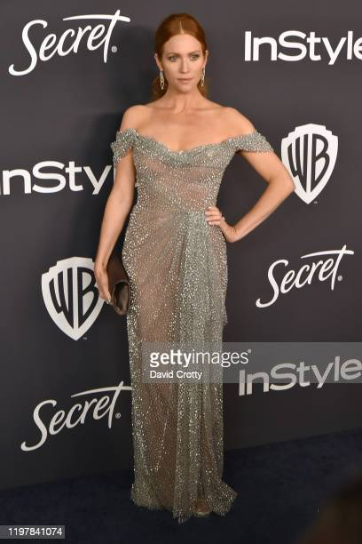Brittany Snow attends the Warner Brothers and InStyle 21st Annual Post Golden Globes After Party Sponsored By L'Oreal Paris Secret at Beverly Hills...