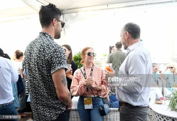 Brittany Snow attends 'Toast to the End of NFF' at the 2019 Nantucket Film Festival Day Five on June 23 2019 in Nantucket Massachusetts