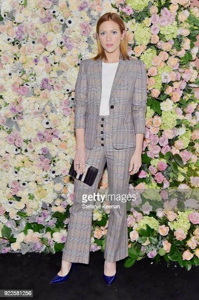 Brittany Snow attends Veronica Beard LA Store Opening on February 21 2018 in Los Angeles California