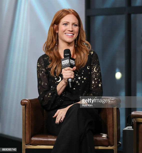 Brittany Snow discusses 'Pitch Perfect 3' during the Build Series at Build Studio on December 14 2017 in New York City