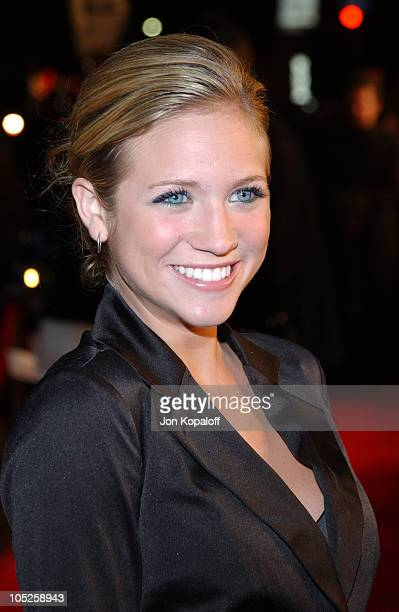 Brittany Snow during 'Eurotrip' Los Angeles Premiere Red Carpet Arrivals at Grauman's Chinese Theatre in Hollywood California United States