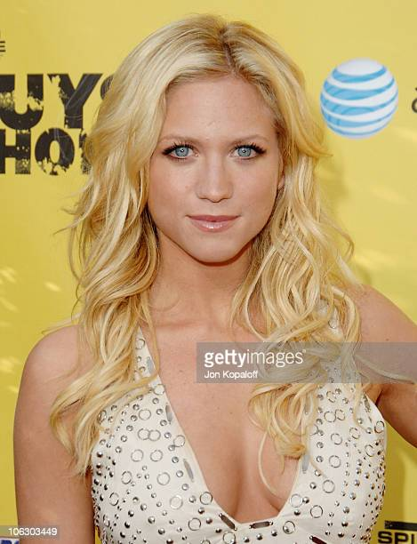 Brittany Snow during First Annual Spike TV's Guys Choice Arrivals at Radford Studios in Studio City California United States