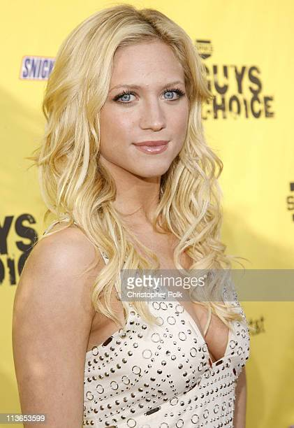 Brittany Snow during First Annual Spike TV's Guys Choice Red Carpet at Radford Studios in Los Angeles California United States