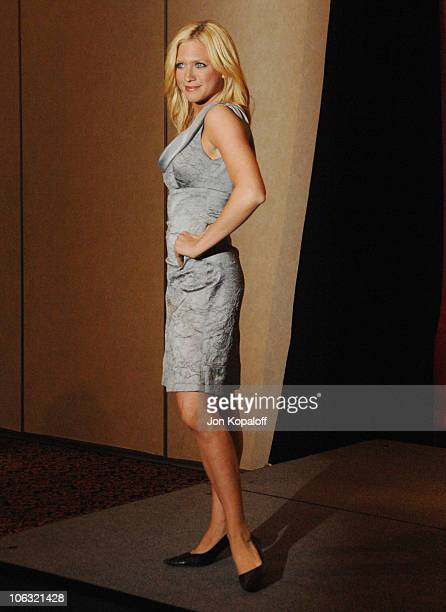 Brittany Snow during ShoWest 2007 'Hairspray' Photo Call at Paris Hotel in Las Vegas Nevada United States