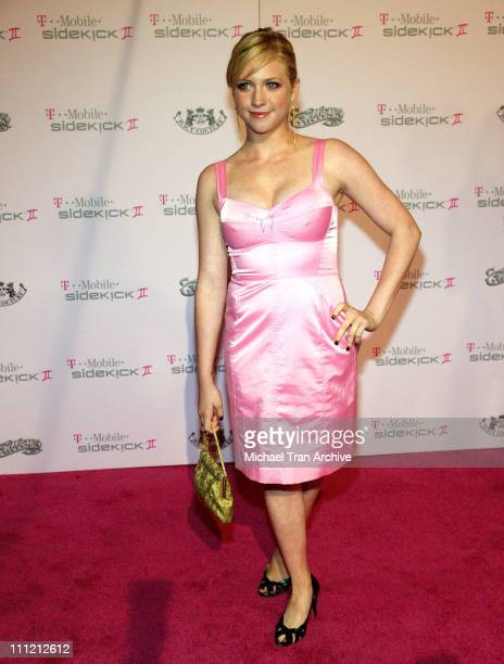 Brittany Snow during T-Mobile Limited Edition Sidekick II Launch - Arrivals at T-Mobile Sidekick II City in Los Angeles, California, United States.