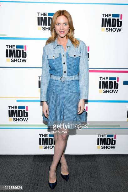 Brittany Snow visit's 'The IMDb Show' on March 10, 2020 in Santa Monica, California. This episode of 'The IMDb Show' airs on March 16, 2020.