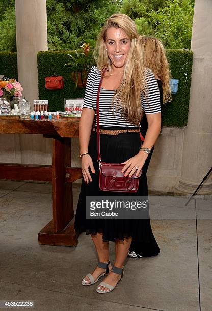 Brittany Talerico attends Gilt Cambridge Satchel Company Mini Capsule Collection Breakfast on August 12 2014 in New York City