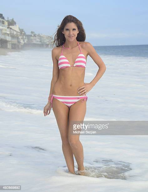 Brittany Underwood at The Bay The Series New Intro Promotional Shoot on October 15 2015 in Los Angeles California