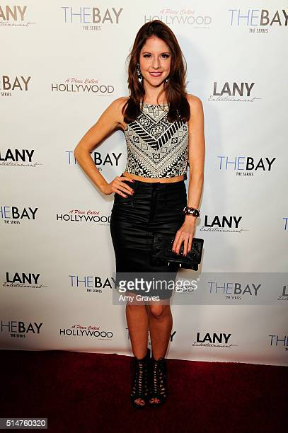 Brittany Underwood attends the 5th Annual LANY Entertainment Mixer at St Felix on March 10 2016 in Hollywood California