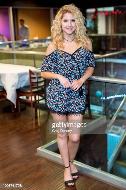 Brittany Underwood attends The Bay Cast Host Fan Appreciation Event on July 27 2018 in Glendale California