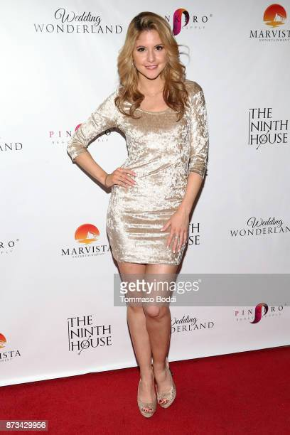 Brittany Underwood attends the Premiere Of MarVista Entertainment's 'Wedding Wonderland' on November 12 2017 in Los Angeles California