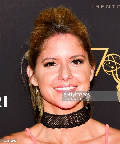 Brittany Underwood attends the Television Academy's Daytime Programming Peer Group Reception at Saban Media Center on August 22 2018 in North...