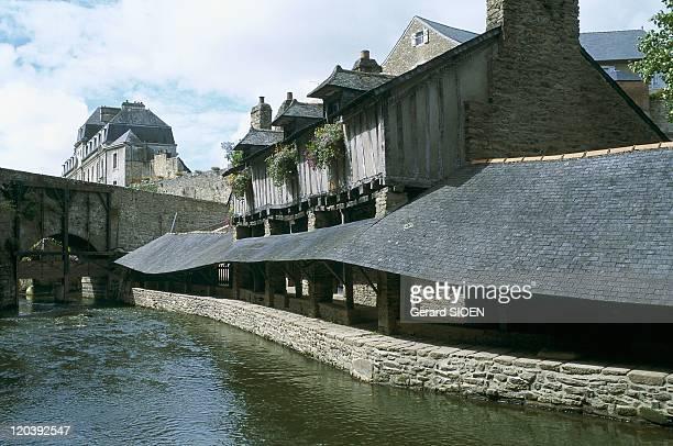 Brittany, Vannes, France - Morbihan, old wash houses.