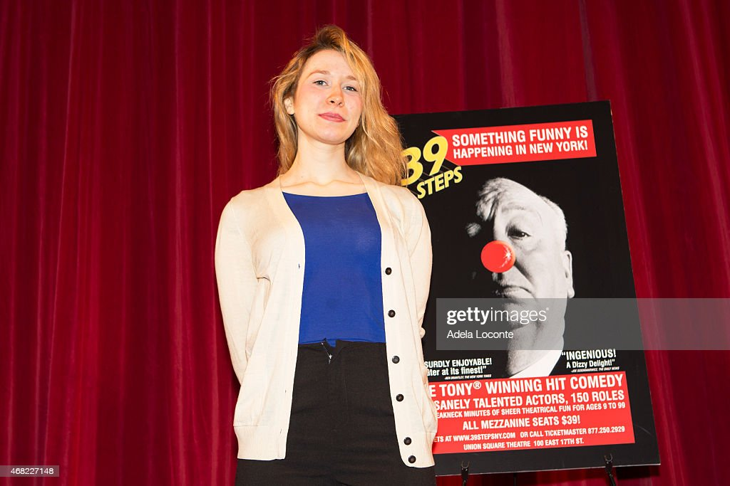39 steps cast meet and greet brittany vicars attends 39 steps cast meet and greet at union square theatre on m4hsunfo
