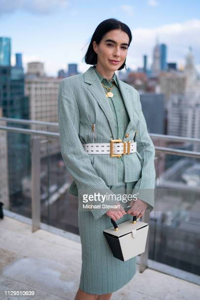 Brittany Xavier attends the Aliette Presentation during New York Fashion Week The Shows at The Standard East Village on February 13 2019 in New York...