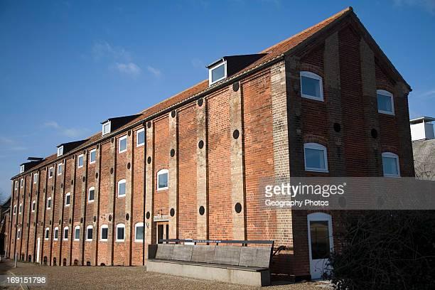 Britten Pears building Snape maltings Suffolk England