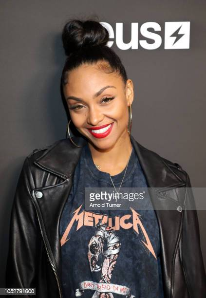 Brittney Elena attends the ZEUS New Series Premiere Party X CIROC Black Raspberry on October 19 2018 in Burbank California
