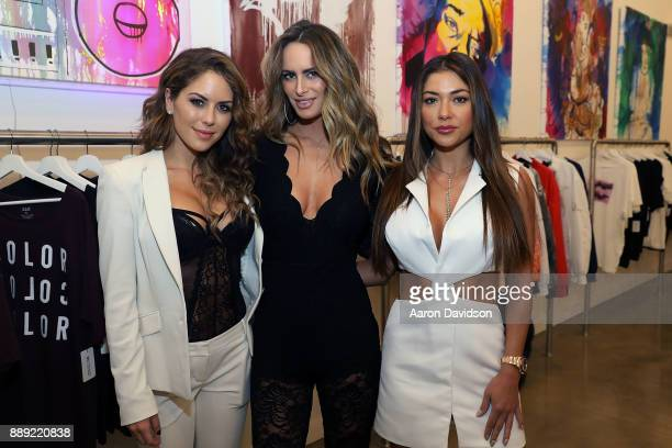 Brittney Palmer Arianny Celeste and Danielle Epstein attend Brittney Palmer's 'No Agency' Art Show Shop At Art Basel Miami 2017 on December 9 2017 in...