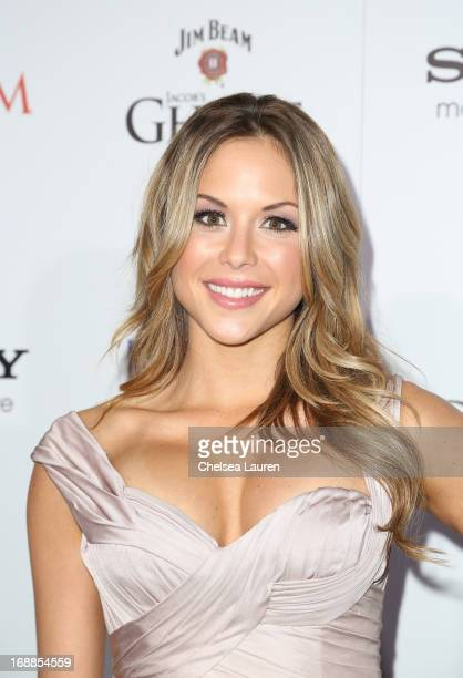Brittney Palmer arrives for Maxim's Hot 100 Celebration at Create Nightclub on May 15 2013 in Hollywood California
