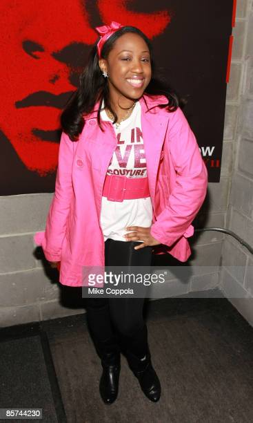 Brittney Taylor attends Bow Wow's New Jack City II album release party at Santos Party House on March 31 2009 in New York City