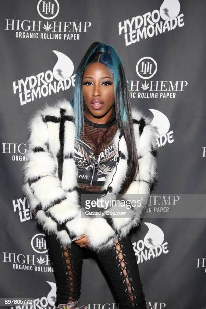 Brittney Taylor Attends The High Hemp Hang Out at PlayStation Theater on December 22 2017 in New York City