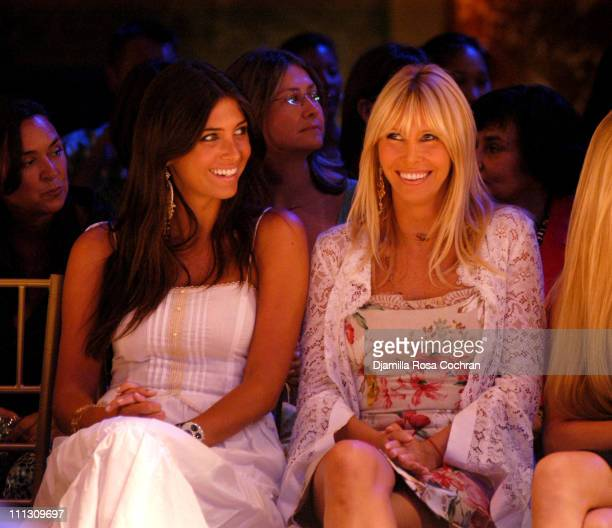 Brittny Gastineau and Lisa Gastineau during The Winners of the 6th Annual More Magazine Wilhelmina 40 Model Search at Cipriani in New York City New...