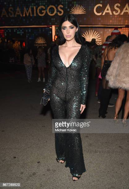 Brittny Gastineau attends Casamigos Halloween Party on October 27 2017 in Los Angeles California