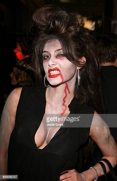 Brittny Gastineau attends Kim Kardashian's Halloween party hosted by PAMA at Stone Rose on October 30, 2008 in Los Angeles, California.