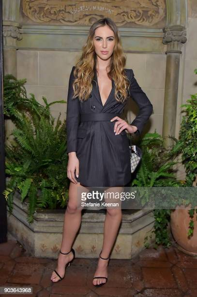 Brittny Ward attends Vanity Fair And Focus Features Celebrate The Film 'Phantom Thread' with Paul Thomas Anderson at the Chateau Marmont on January...