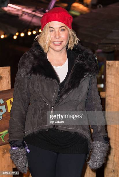 Brix Smith attends the Winter Wonderland VIP opening at Hyde Park on November 20 2014 in London England