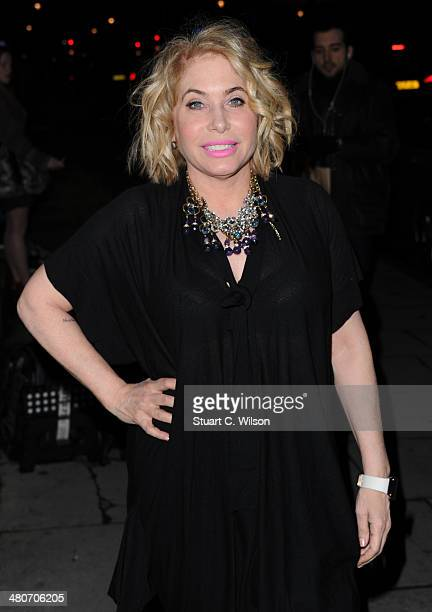Brix Smith Start attends a party to celebrate 25 years of Magnum at Home House on March 26 2014 in London England