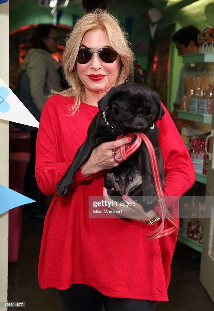 Brix Smith Start attends the Blue Cross tea party on May 8, 2013 in London, England.