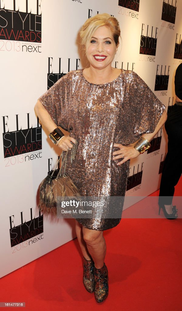Brix Smith-Start arrives at the Elle Style Awards at The Savoy Hotel on February 11, 2013 in London, England.