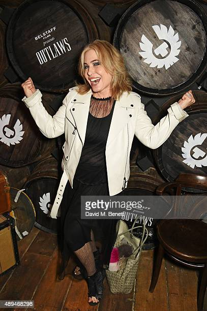 Brix SmithStart attends an after party celebrating the premiere of Belstaff Films' Outlaws during London Fashion Week at La Bodega Negra on September...